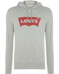 Levi's - Pocket Front Batwing Logo Hoodie - Lyst
