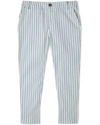 Dash | Ticking Stripe Crop Trouser | Lyst