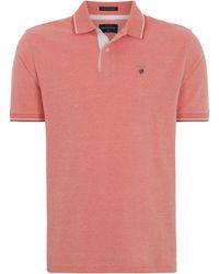 Howick | Men's Paterson Birdseye Short Sleeve Pique Polo | Lyst