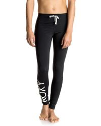Roxy - Stay On Fitness Tights - Lyst