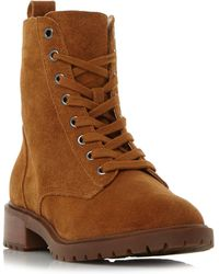Steve Madden - Officer Sm Llace Up Worker Ankle Boots - Lyst