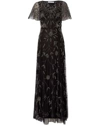 Shubette | Floral Beaded Gown With Capre | Lyst