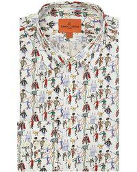 Simon Carter - Men's Exclusive Liberty Fete Print Shirt - Lyst