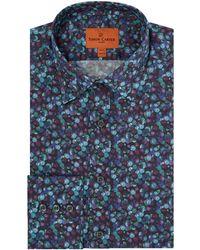 Simon Carter - Men's Liberty Winter Berry Print Shirt - Lyst