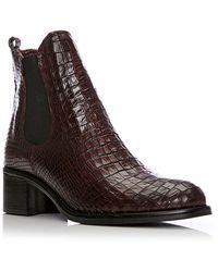 Moda In Pelle - Colino Medium Smart Short Boots - Lyst