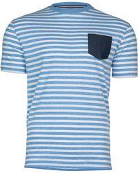 Raging Bull - Big & Tall Pin Stripe T-shirt - Lyst
