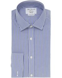 Tm Lewin - Bengal Stripe Fully Fitted Long Sleeve Shirt - Lyst