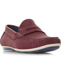 Howick - Batik Sporty Penny Loafer Shoes - Lyst