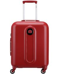Delsey - Helium Classic 55cm Red Cabin Suitcase - Lyst