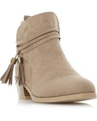 Dune - Petraa Tassel Ankle Boots - Lyst