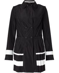 James Lakeland - Pleated Trench Coat - Lyst