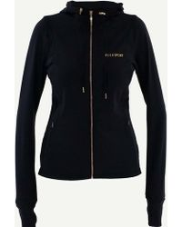 ELLE Sport - Sleek Energising Sports Jacket With Hood - Lyst