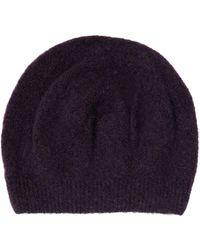Lyst - Henri lloyd Tucker Plain Knited Hat in Blue for Men 8cc6b259933a