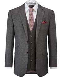 Skopes | Fox Wool Blend Suit Jacket | Lyst