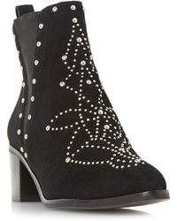 Dune - Octal All Over Stud Chelsea Boots - Lyst