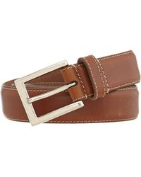 Howick - Leather Stitched Belt - Lyst