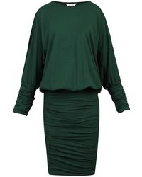 Jolie Moi - Batwing Ruched Tunic Dress - Lyst