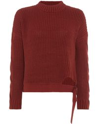 Label Lab - D Ring Cropped Jumper - Lyst