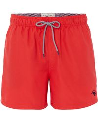 Ted Baker - Men's Danbury Solid Colour Swim Shorts - Lyst