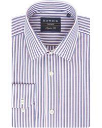 Howick - Briar Stripe Shirt - Lyst