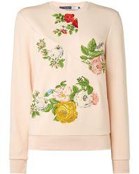 Sportmax Code - Sugahero Embroidered Sweatshirt - Lyst