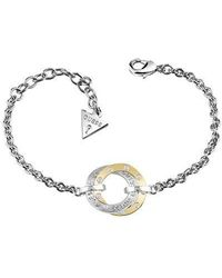 Guess - E-motions Ubb83067-l Circle Bracelet - Lyst