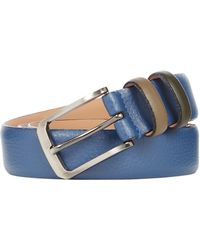 Ted Baker - Coloured Leather Keeper Belt - Lyst