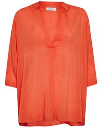Great Plains | Kezia Shirting Collared Blouse | Lyst
