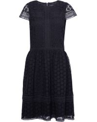 French Connection - Parker Lace Fit And Flare Dress - Lyst