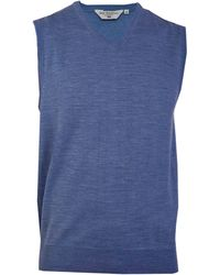 Double Two - V Neck Sleeveless Sweater - Lyst