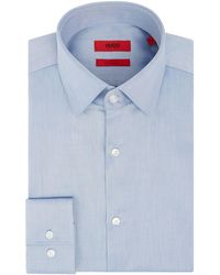 HUGO - Men's Jenno Slim Fit Sheen Shirt - Lyst