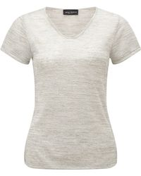 James Lakeland - V Neck T-shirt - Lyst