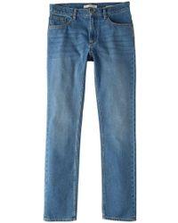 Mango | Straight-fit Medium Wash Bob Jeans | Lyst