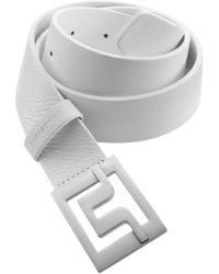 J.Lindeberg - Slater 40 Pro Leather Belt - Lyst