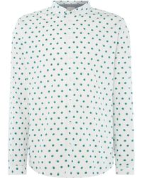 Minimum - Men's Classic Shirt With A Print - Lyst