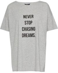 French Connection - Never Stop Chasing Dreams T Shirt - Lyst