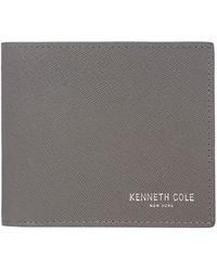 Kenneth Cole   Saffiano Billfold Wallet   Lyst
