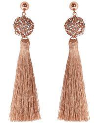 Coast - Seyda Tassel Earrings - Lyst