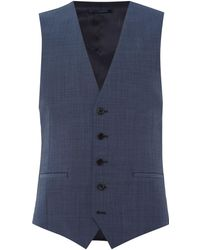Kenneth Cole - Mercer Slim Fit Tonic Suit Waistcoat - Lyst