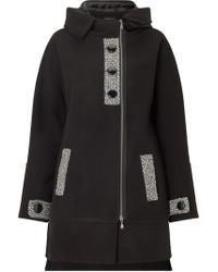 James Lakeland - Hooded Quilted Coat - Lyst