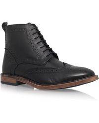 KG by Kurt Geiger   Moore Leather Boots   Lyst