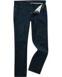 Michael Kors - Slim Fit 5 Pocket Twill Jean - Lyst
