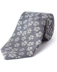 Paul Costelloe - Broadly Floral Wool-blend Tie - Lyst