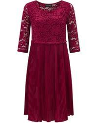 James Lakeland - Pleated Lace Dress - Lyst