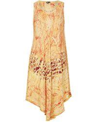 Izabel London - Printed Swing Dress - Lyst