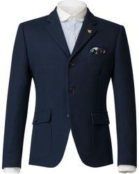 Gibson - Men's Navy Textured Jacket - Lyst