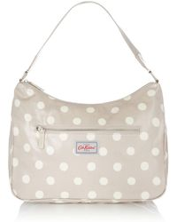 Cath Kidston - Button Spot Curve Shoulder Bag - Lyst