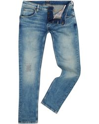 Pepe Jeans - Men's Cash Used Aged Denim Jeans - Lyst