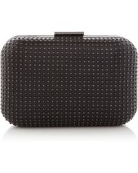OLGA BERG - Jeni Studded Cross Body Clutch - Lyst