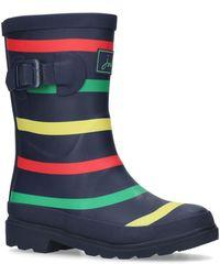 Joules - Boys Navy Multi Stripe Wellington Boots - Lyst